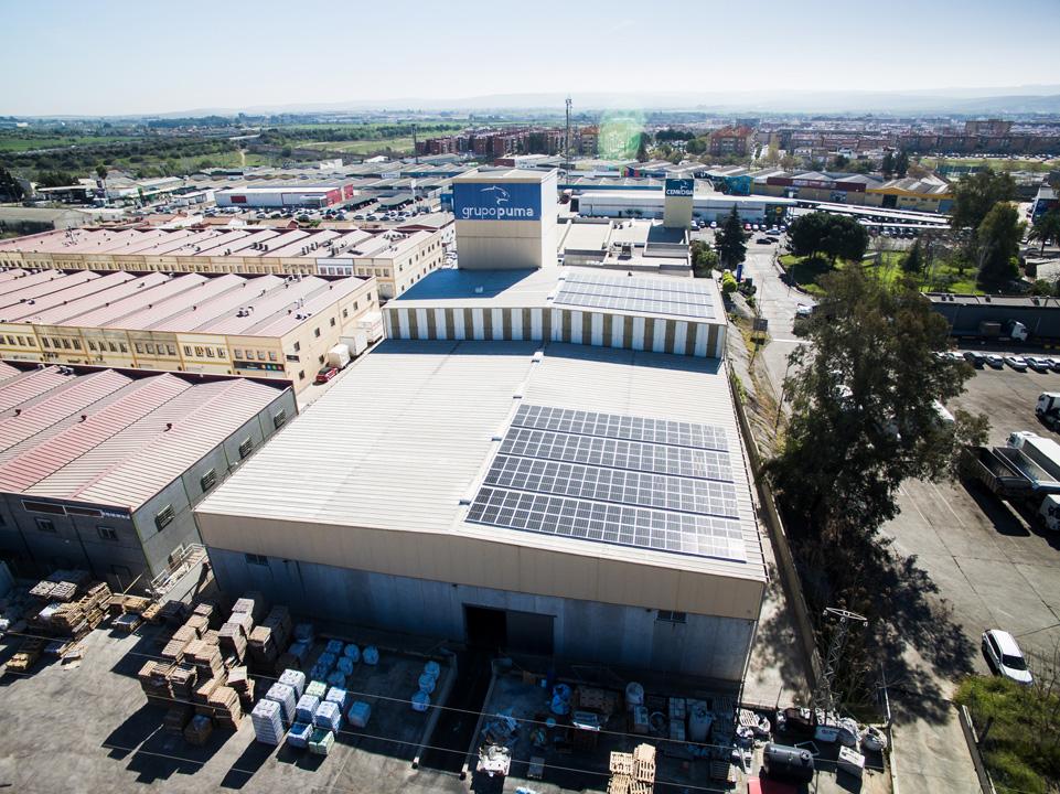 Instalación fotovoltaica para autoconsumo de 93kw.